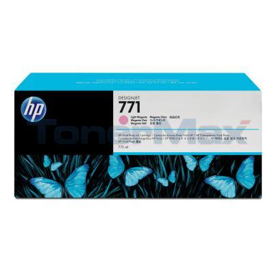 HP NO 771 DESIGNJET INK CART LIGHT MAGENTA 775ML